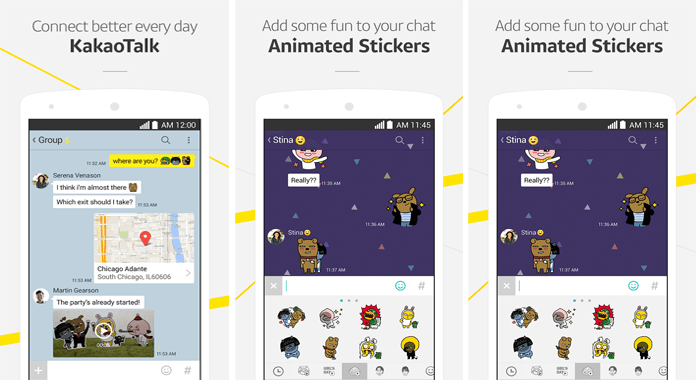 Communication App KakaoTalk Android Messaging App Review