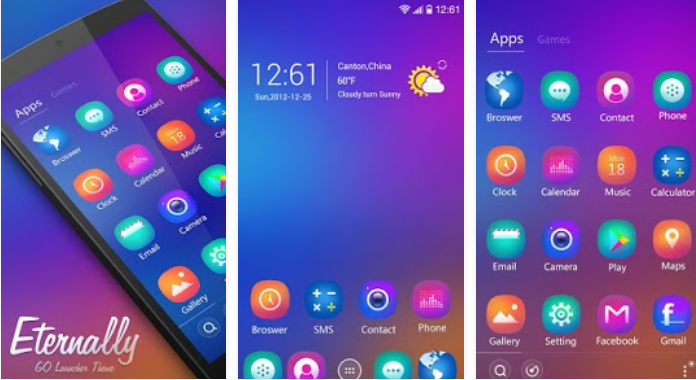 best go launcher ex themes for android free download