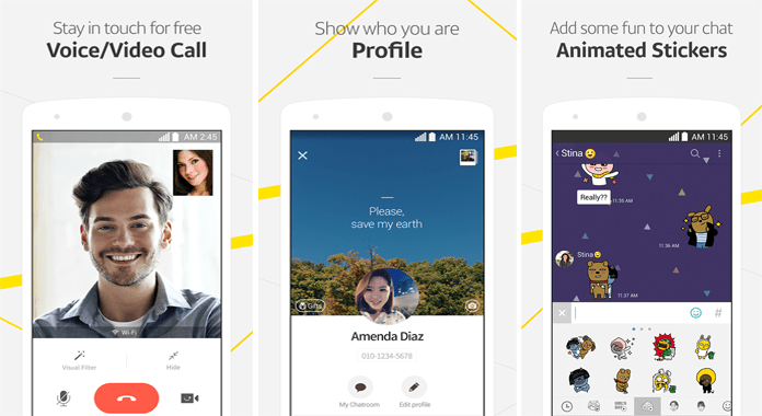 KakaoTalk Android Messaging App Review