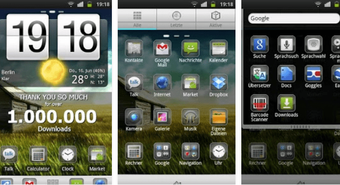 Plate Theme 4 Free Download Best Go Launcher Themes for Android