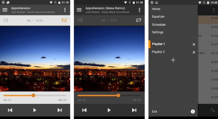 Aimp Best Android Music player Apps