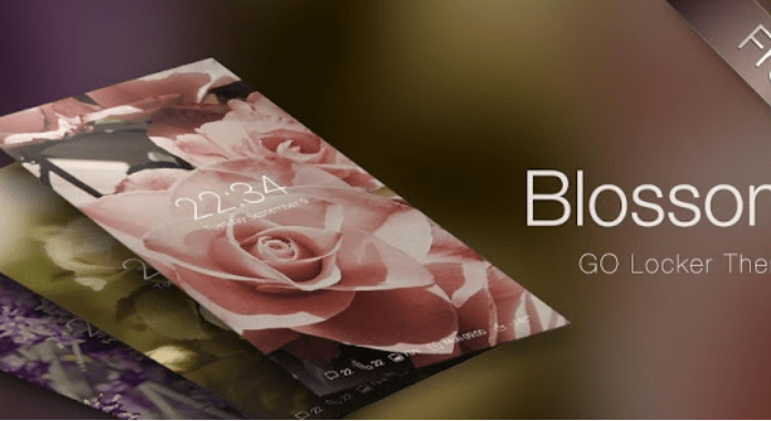 Blossom Best Free Go Locker Themes for Android