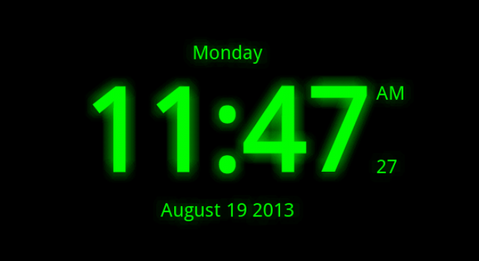Digital Clock Download Best Free Live Wallpapers for Android