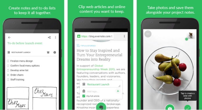 Must Have Android Apps free Download Evernote