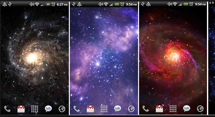 Download Best Free Live Wallpapers For Android Galactic Core
