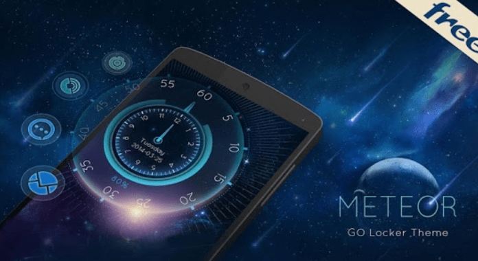 Meteors Download Best Free Go Locker Themes for Android
