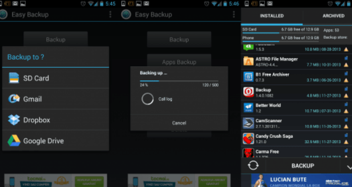 Best Android Backup Apps Easy Backup & Restore Free Download
