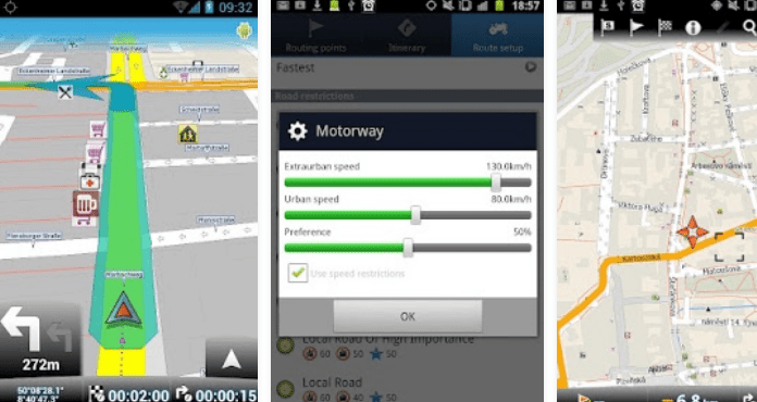 Best GPS App for Android free download MapFactor GPS