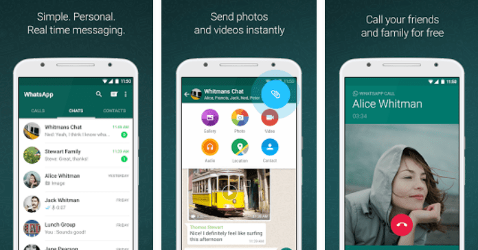 Best Messaging Apps for Android free Download WhatsApp