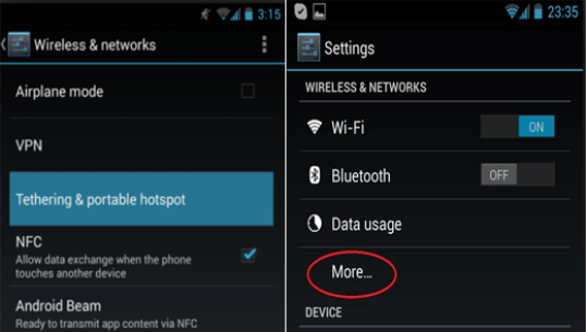 Learn How to Use Android as a Modem for Laptop via WI-Fi