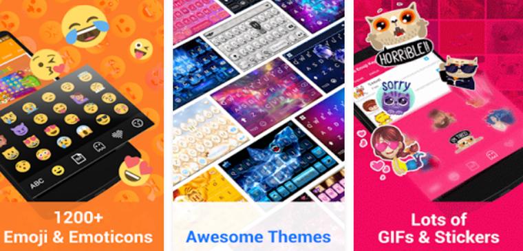 Best Emoji Keyboards for Android Kika Keyboard – Emoji, GIFs