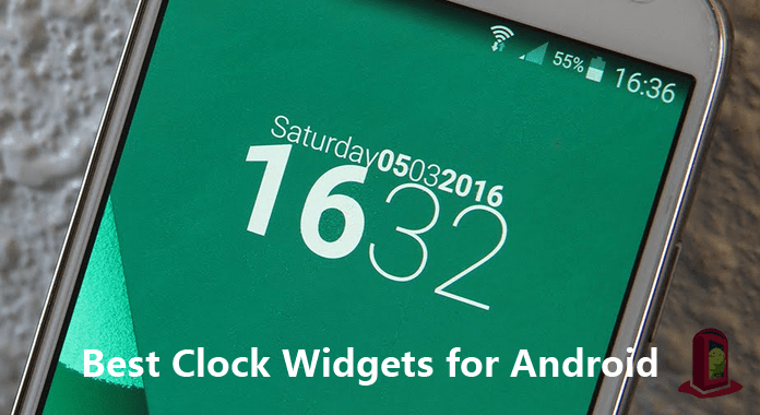 10 Best Clock Widgets for Android Smartphone and Tablet
