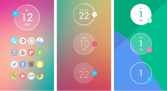 Best free Clock Widgets for Android Minimal Clock
