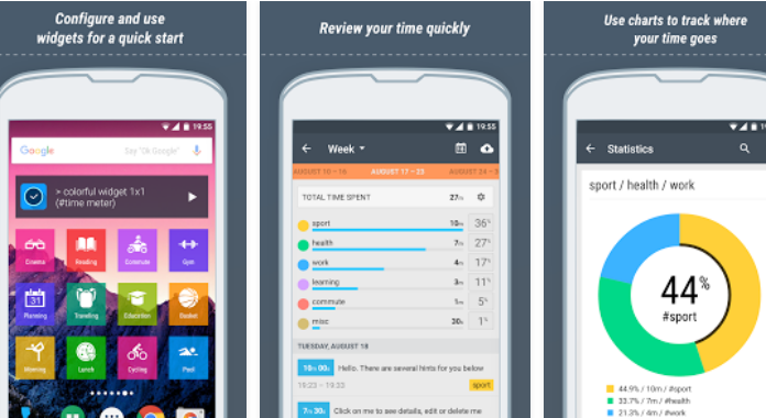 To 10 Best Time Tracking Apps for Android Time Meter Time Sheet