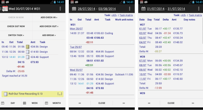 Download Best Time Tracking Apps for AndroidTime Recording - Timesheet App