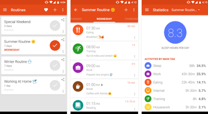 Best Time Tracking Apps for Android TimeTune Schedule Planner