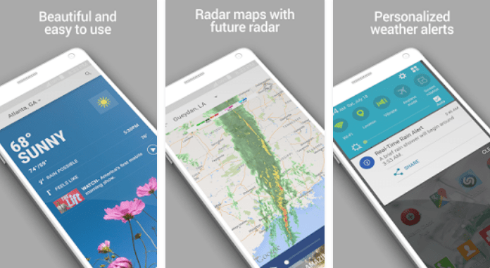 The Weather Channel Best Weather Apps for Android