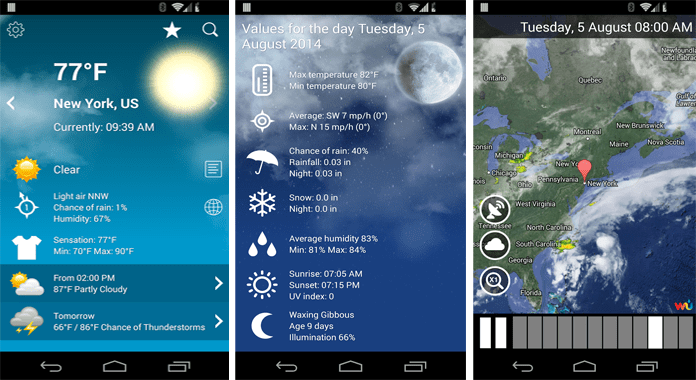 Weather XL PRO Best Weather Apps for Android