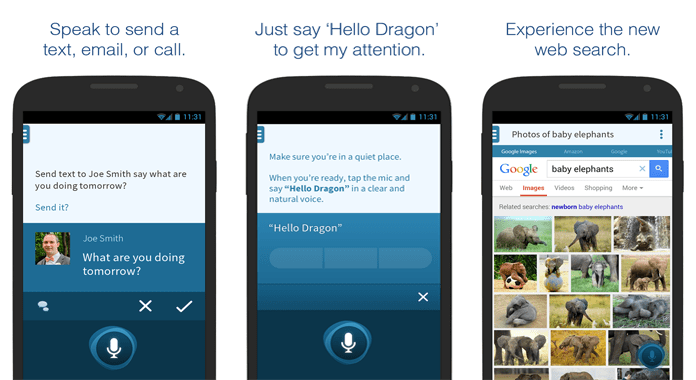 Dragon Mobile personal Assistant