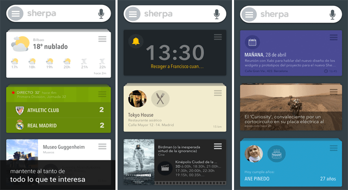 SHERPA BETA Personal Assistant