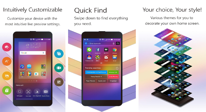 Best Launchers for Android ZenUI Launcher