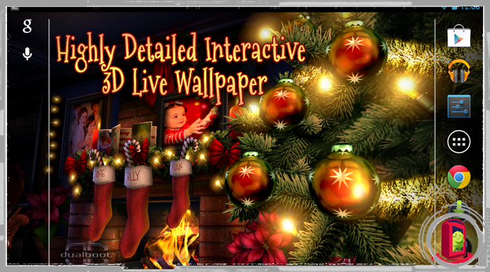 Best Christmas Live Wallpapers for Android Free Download
