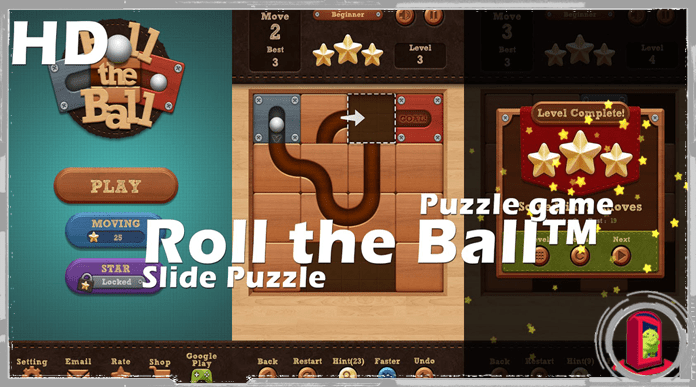 Best Free Puzzle Games for Android Roll the Ball Slide Puzzle