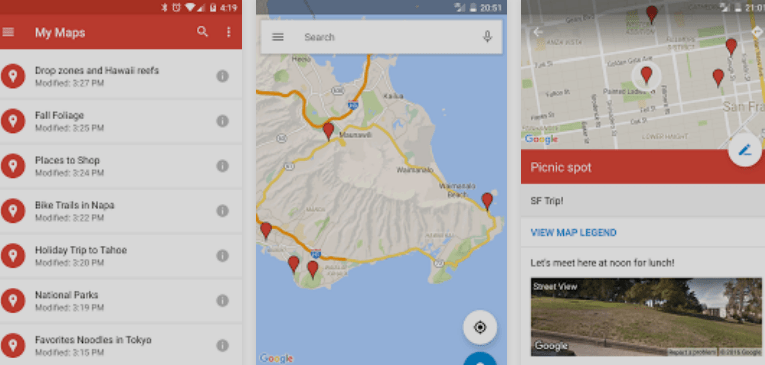 Top 10 Android Apps You Must have on Your Smartphone Google My Maps
