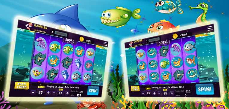 Shark Casino Slots for Android - A New Slot Casino Game