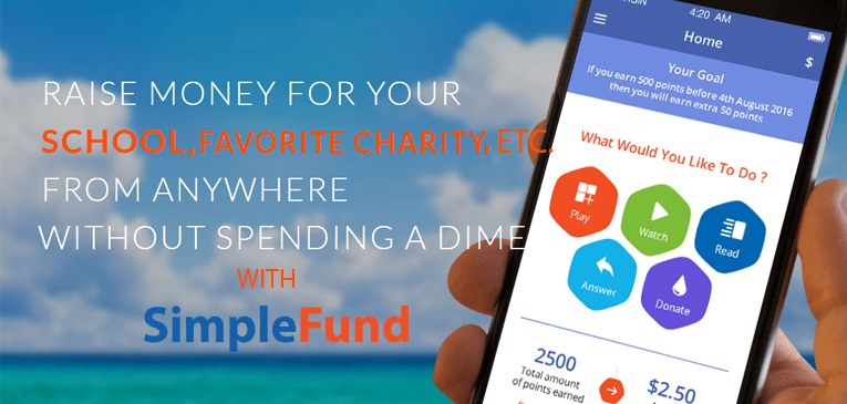 SimpleFund – Fundraising App for Android | Raise Money for Your School or Nonprofit