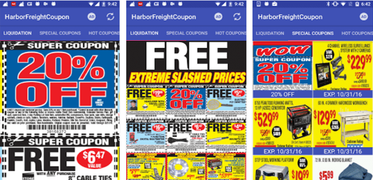 Best Coupon Apps for Android Coupons for Harbor Freight
