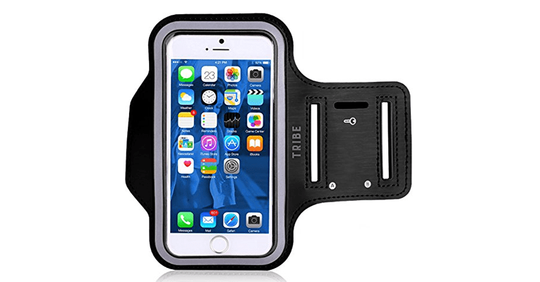 Best Smartphone Accessories Android and IOS Tribe Water Resistant Cell Phone Armband
