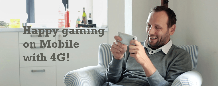 Is 4G Connection Good Enough to Play Online Games on Your Phone Anywhere
