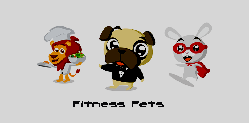Fitness Pets Fun Activity App