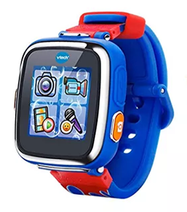 VTech Kidizoom Smartwatch DX, Special Edition – Red Flame in Royal Blue