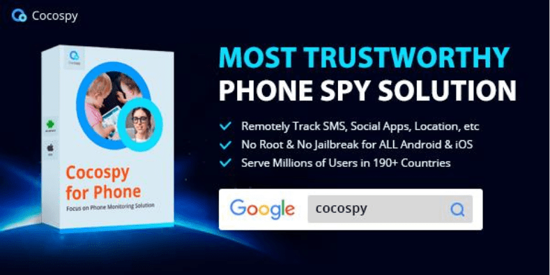 CocoSpy Cellphone Spy App