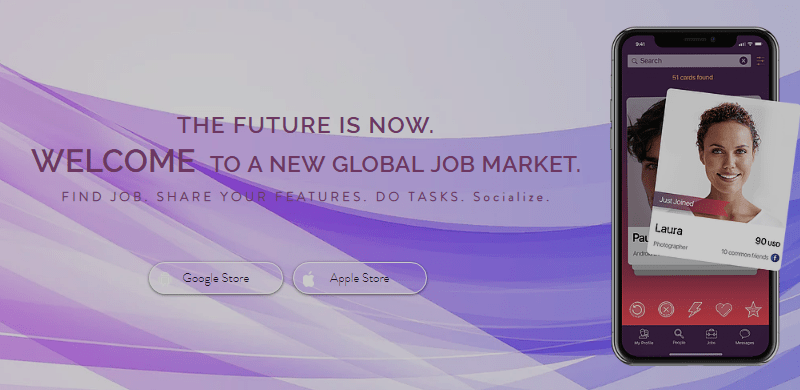 MeeW - The App to Discover a New Global Job Market
