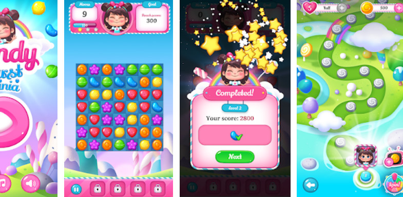 Candy Burst Mania Screenshot