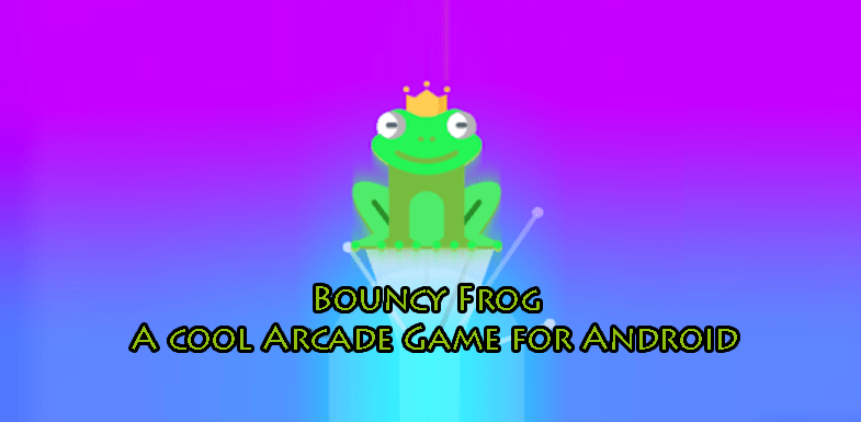 Bouncy Frog A cool Arcade Game for Android