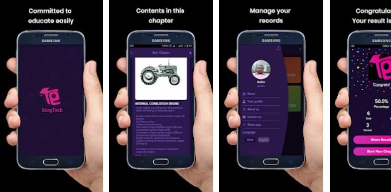 EasyTech App Screenshot