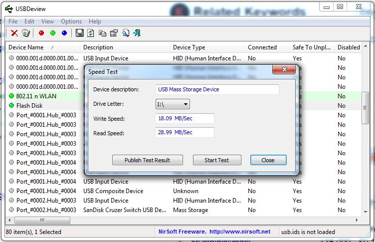 Eaget F60 128GB USB Flash Drive Speed Test