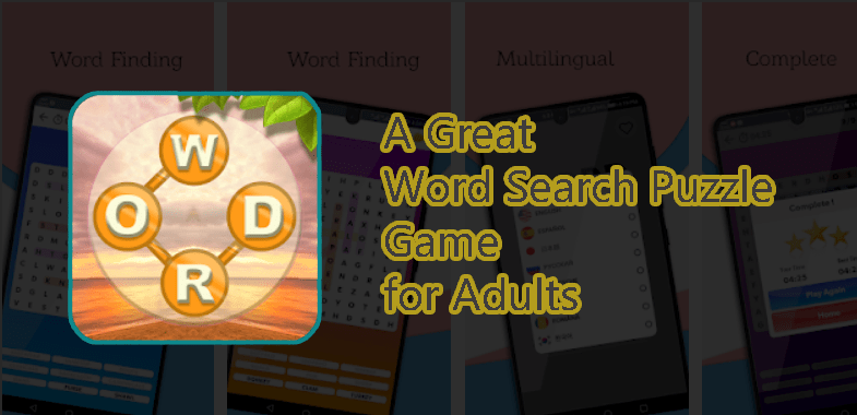 Word Search Puzzle Game for Adults