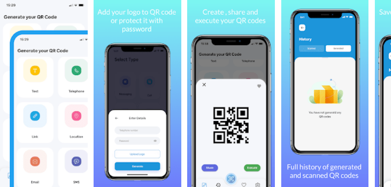 The QR Reader and Generator