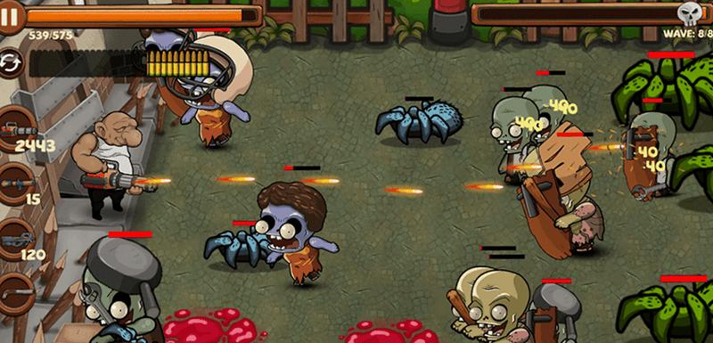 Zomvid-19 Zombie Game