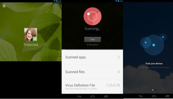 Avira-free-android-security