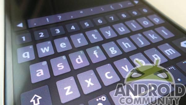 LG G Flex Keyboard