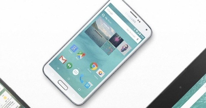 AT&T Samsung Galaxy S5 Android 5.0 Lollipop