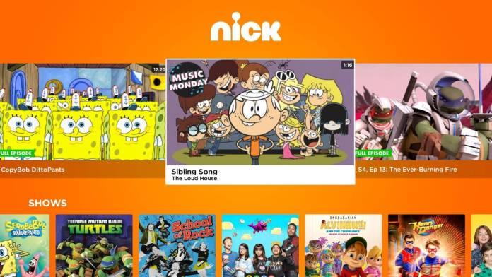 Nickelodeon Streaming