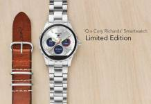 Limited Edition Fossil Q x Cory Richards Smartwatch 1