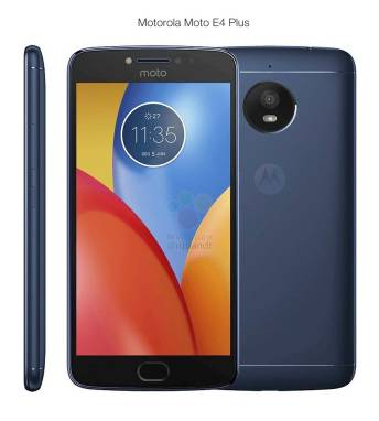 Motorola Moto E4 Plus Blue